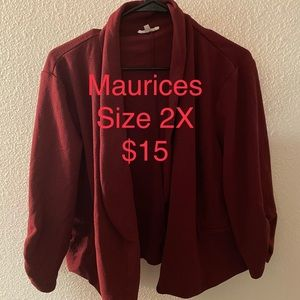 Maurice's Royal Wine Blazer